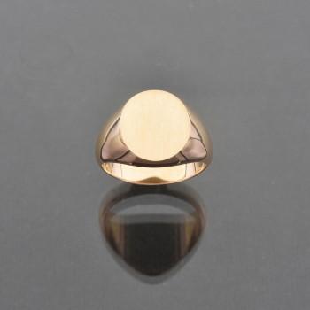 Chevalière ovale 12,5x14,5