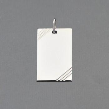 Pendentif rectangulaire