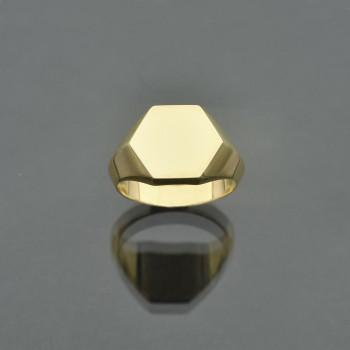 Chevalière hexagonale