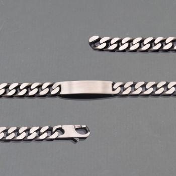 Bracelet identité homme
