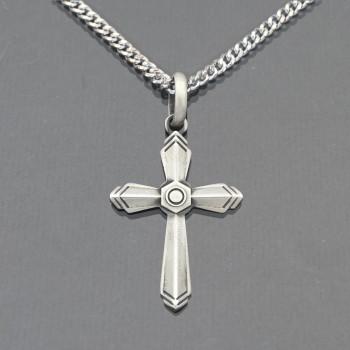 Pendentif croix et son...