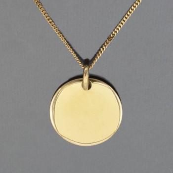 Médaille lenticulaire et...